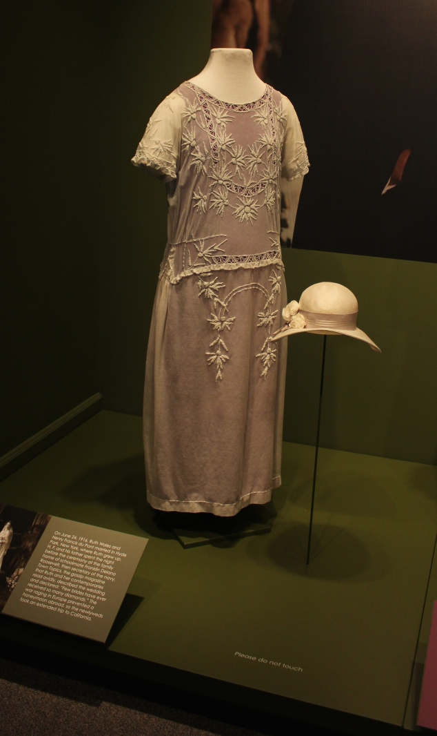 Lady Sybil's dress for Lady Edith's wedding