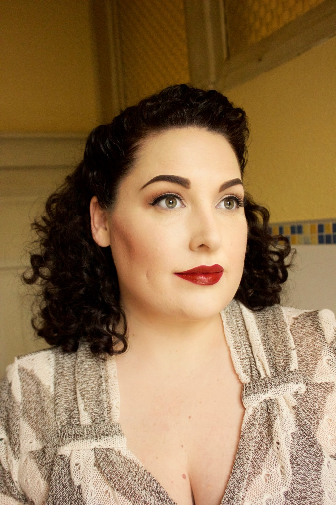 vintage hairstyling for naturally curly hair | musings of a